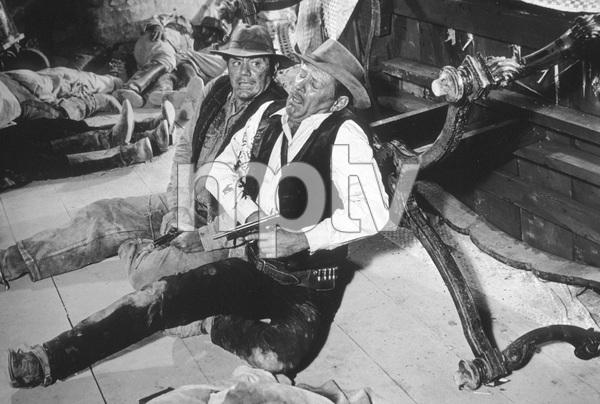 """The Wild Bunch""Ernest Borgnine, William Holden1969 Warner Brothers - Image 3820_0107"