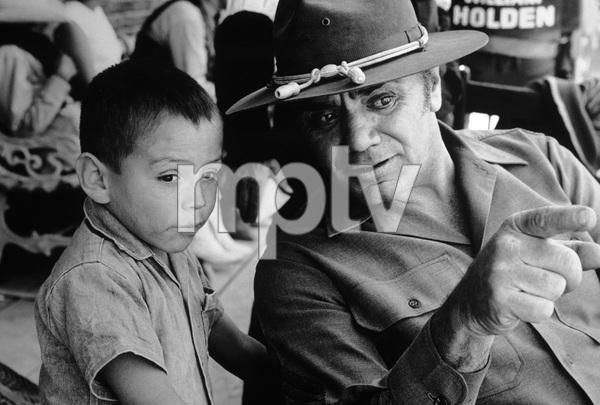 """The Wild Bunch""Ernest Borgnine1969 Warner BrothersPhoto by Bernie Abramson - Image 3820_0112"