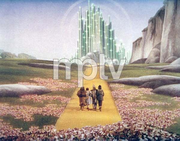 """""""The Wizard of Oz""""Bert Lahr, Judy Garland, Jack Haley, Ray Bolger1939 MGM - Image 3823_0036"""