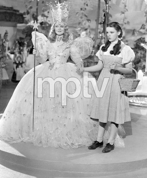 Judy Garland, Billie Burke, THE WIZARD OF OZ, M-G-M, 1939, I.V. - Image 3823_0150