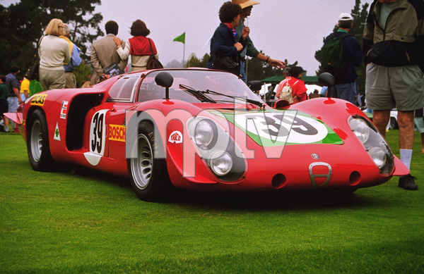Car Category1968 Alfa Romeo Type 33/21998 Concours Italiano © 1998 Ron Avery - Image 3846_0361