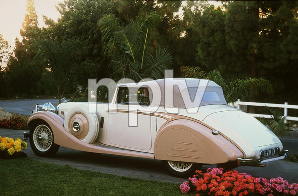 Car Category1937 Alvis Speed 25 SB Drophead CoupeOwner Ron Pinto © 1982 Glenn EmbreeMPTV - Image 3846_0432