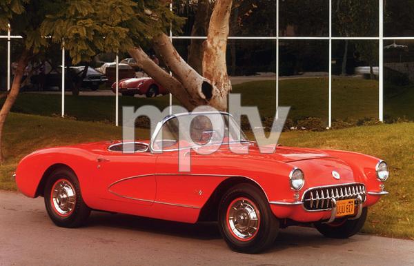 Car Category1957 Chevrolet Corbette ConvertibleOwner Stanley Wrightsman © 1981 Glenn EmbreeMPTV - Image 3846_0443
