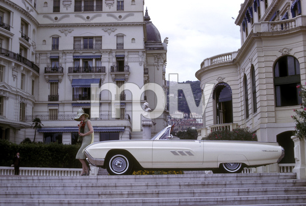 Ford Thunderbirdin MonacoOctober 1962 © 1978 Mark Shaw - Image 3846_0919