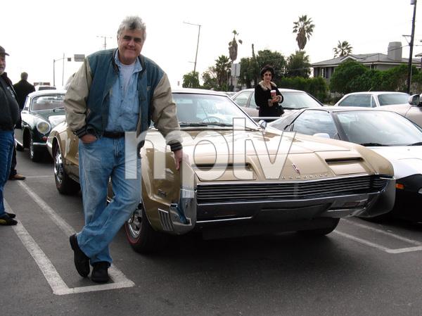 CarsJay Leno and his 1966 Oldsmobile Toronado2005 © 2005 Ron Avery - Image 3846_1340