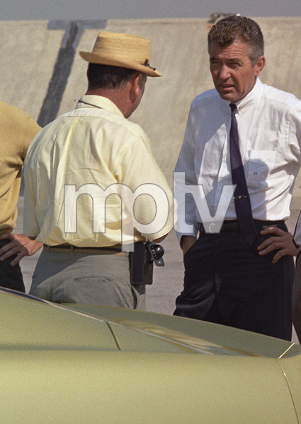 CarsPhotographer Sid Avery with Carroll Shelby at Shelby