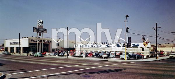 Competition Dealership (where James Dean bought his Porsche 550 Spider)Hollywood, California circa 1963 - Image 3846_1574