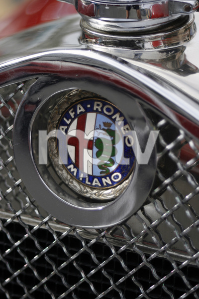 Cars1930 Alfa Romeo 6 C 1750 on Rodeo Drive in Beverly Hills 6-15-08 © 2008 Ron Avery - Image 3846_1761