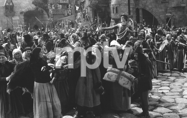 "Crowd Scene from""Robin Hood""1922 - Image 3854_0156"