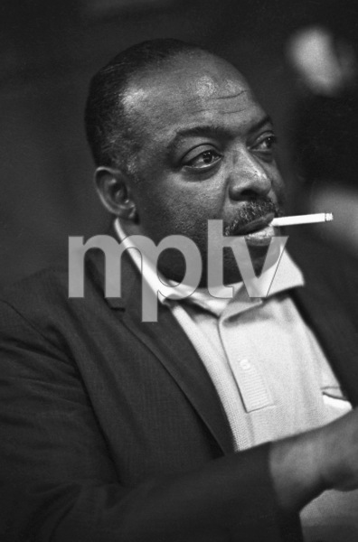 Count Basie during a Frank Sinatra recording session1965 © 1978 Ted Allan - Image 3870_0002