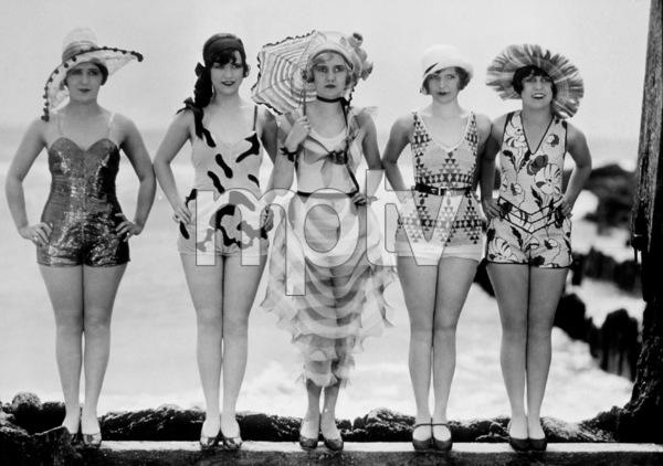"""Bathing Girls""Mack Sennet ComediesPhoto by Geo. F. Cannons - Image 3878_0001"