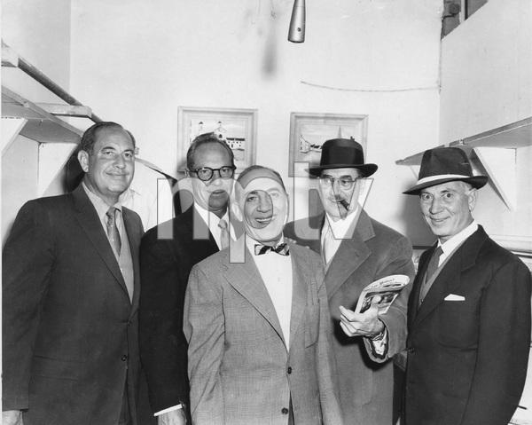 The Marx Brothers (Gummo, Zeppo, Chico, Groucho, Harpo) circa 1950s ** I.V. - Image 3891_0306