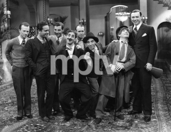 """The Cocoanuts""  Zeppo Marx, Groucho Marx, Chico Marx, Harpo Marx, director Robert Florey1929 Paramount Pictures** I.V. - Image 3891_0310"