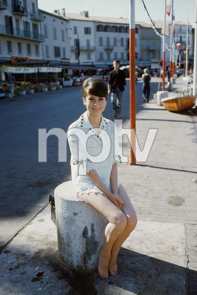 Catherine Deneuve in St. Tropez1961© 2011 Mark Shaw - Image 3956_1075