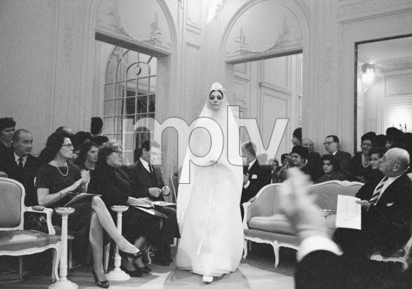 Dior fashion model Kouka modeling Marc Bohan