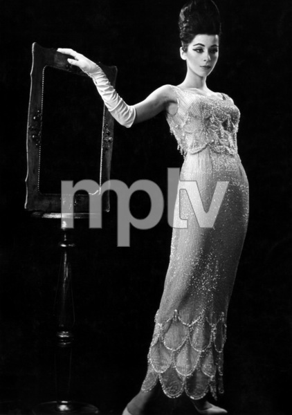 Sheryl Deauville posing for Harper