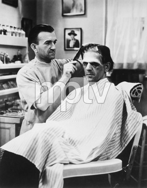 """Frankenstein""Jack P. Pierce, Boris Karloff1931 Universal Pictures** I.V. - Image 3963_0081"