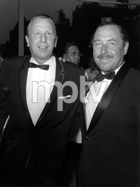 "Tennessee Williams Williams & Ray Stark Opening Night of ""Night of the Iguana"" 6/30/1964 - Image 4015_0003"