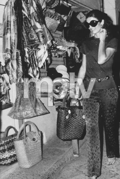 Jacqueline Kennedy - OnassisShopping in Isle of Capri1969 - Image 4027_0002