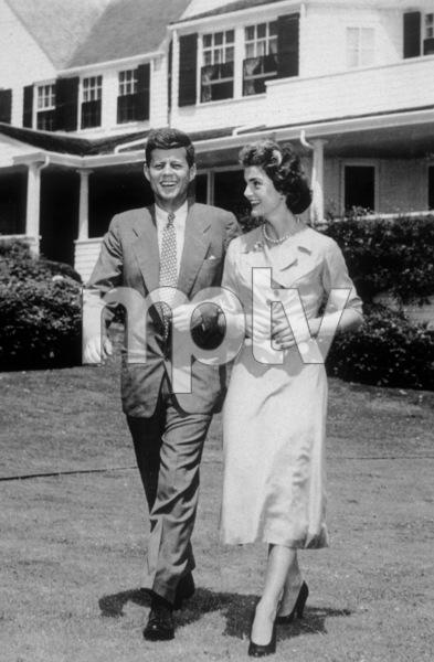 Jackie Kennedy and John F. Kennedycirca 1955 - Image 4027_0010