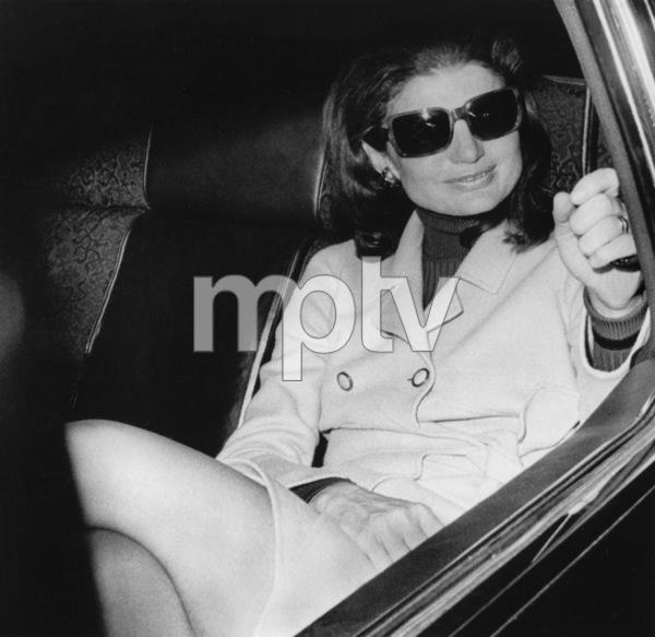 Jacqueline Kennedy-Onassisarriving at Boston