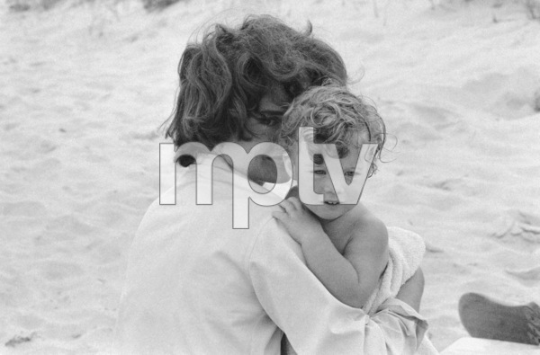 Jacqueline Kennedy and daughter Caroline at Hyannis Port 1959 © 2012 Mark Shaw - Image 4027_0154
