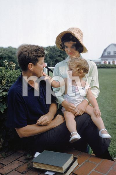 John F. Kennedy, Caroline Kennedy and Jacqueline Kennedy at Hyannis Port1959© 2012 Mark Shaw - Image 4027_0189