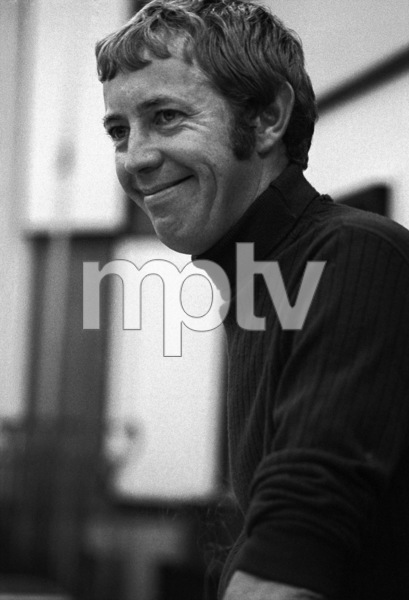 Noel Harrison at a recording session1967 © 1978 Ed Thrasher - Image 4043_0007