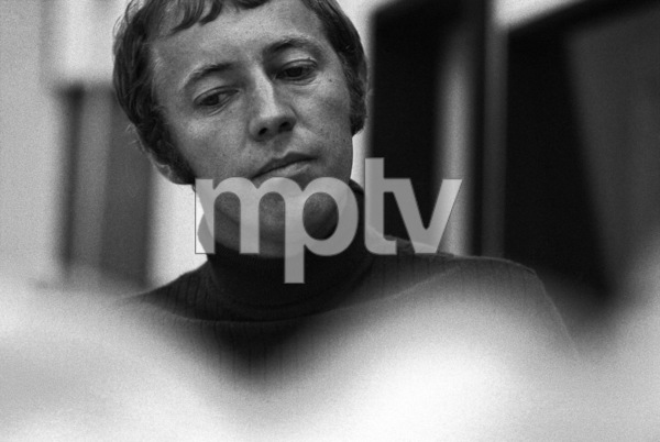 Noel Harrison at a recording session1967 © 1978 Ed Thrasher - Image 4043_0008