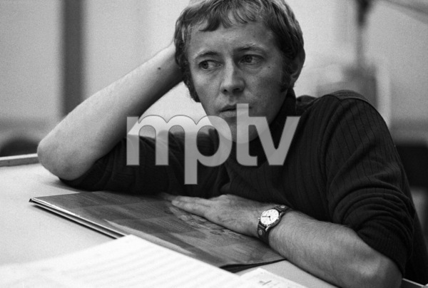 Noel Harrison at a recording session1967 © 1978 Ed Thrasher - Image 4043_0009