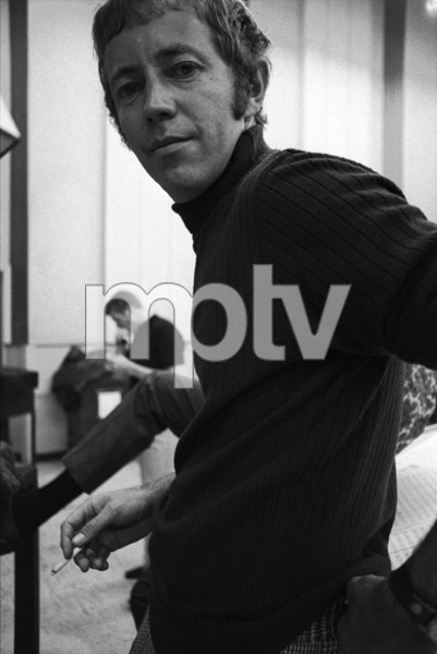 Noel Harrison at a recording session1967 © 1978 Ed Thrasher - Image 4043_0014