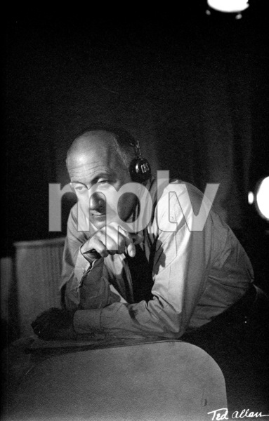 Cecil B. De Mille wearing CBS headphones, 1936. © 1978 Ted AllanMPTV - Image 40_397