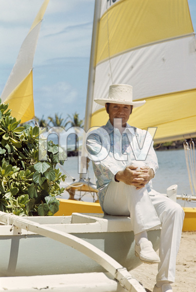 """Hawaii Five-O""Jack Lordcirca 1973** H.L. - Image 4187_0021"