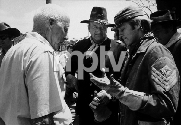 """Rio Lobo,"" Cinema Center 1970.John Wayne and Chris Mitchum. © 1978 David Sutton - Image 4229_0012"