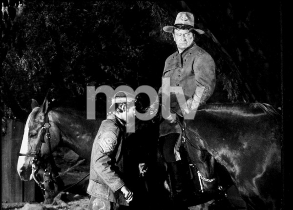 """Rio Lobo,"" Cinema Center 1970.Chris Mitchum and John Wayne. © 1978 David Sutton - Image 4229_0013"