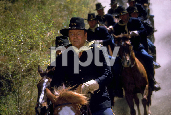 """Rio Lobo,""John WayneCinema Center 1970. © 1978 David Sutton - Image 4229_0019"