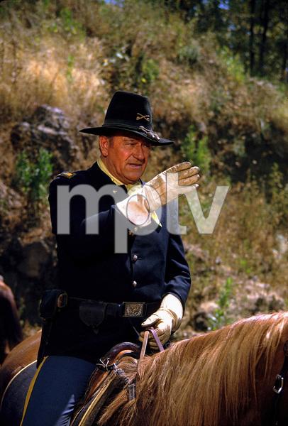 """Rio Lobo,"" John WayneCinema Center 1970. © 1978 David Sutton - Image 4229_0028"