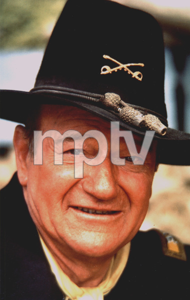 "John Wayne, portrait for ""Rio Lobo,"" 1970. © 1978 David Sutton - Image 4229_2"