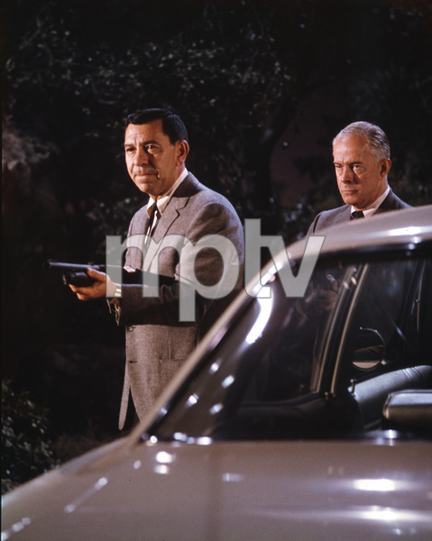 Jack Webb, Harry Morgan, DRAGNET, TV, I.V. - Image 4243_0007