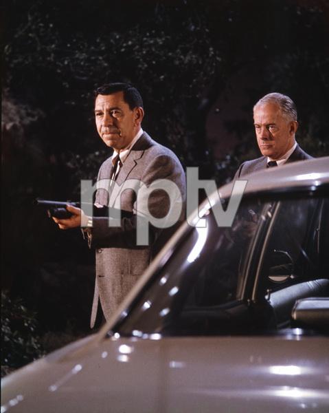 Jack Webb, Harry Morgan, DRAGNET, TV, I.V. - Image 4243_0007