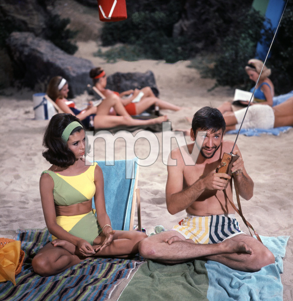 """For Those Who Think Young""Nancy Sinatra, Bob Denver1964 United Artists © 1978 Ted Allan - Image 4267_0001"