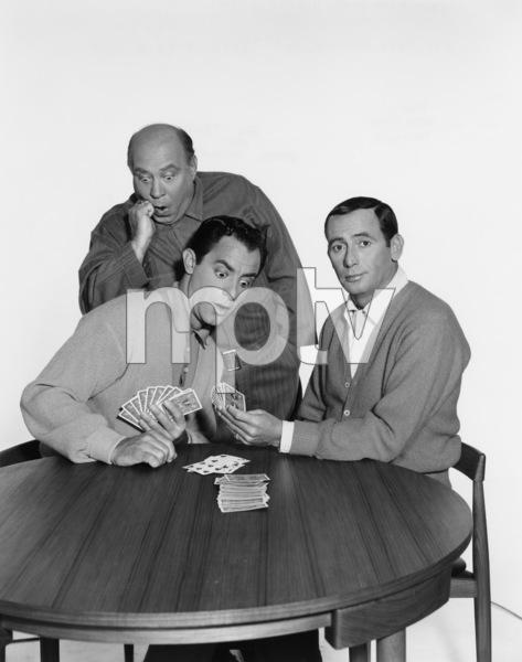 """The Joey Bishop Show""Corbett Monica, Joe Besser, Joey Bishop1962Photo by Gabi Rona - Image 4288_0008"