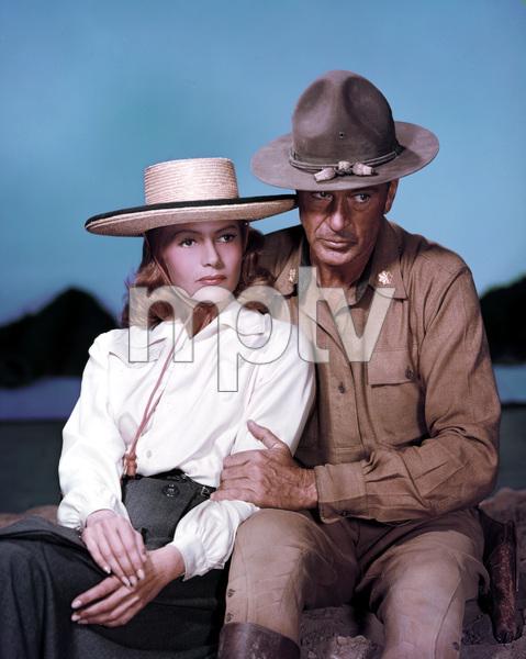 """They Came to Codura""Gary Cooper, Rita Hayworth1959 ColumbiaPhoto by Robert Coburn Jr.** I.V. - Image 4320_0001"