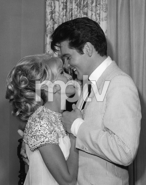 "Nancy Sinatra and Elvis Presley in ""Speedway""1968** B.L. - Image 4332_0012"