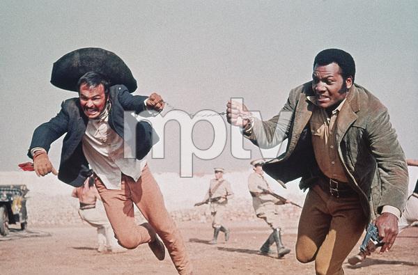 """100 Rifles""Burt Reynolds, Jim Brown1969 20th Century Fox - Image 4377_0013"