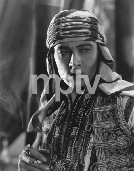 """""""Son of the Sheik, The"""", Rudolph Valentino, United Artists, 1926, Photo by Nealson Smith, **I.V. - Image 4408_0012"""