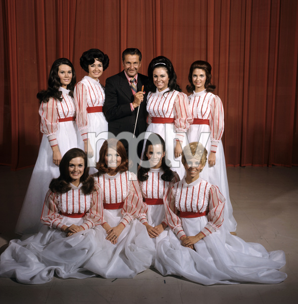 """The Lawrence Welk Show""Lawrence Welk and cast1969 © 1978 Gene Trindl - Image 4421_0019"