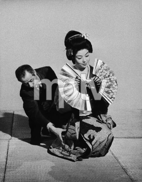 "Machiko Kyo on the set of ""The Teahouse of the August Moon""1956 © 1978 Sanford Roth / AMPAS - Image 4432_0018"