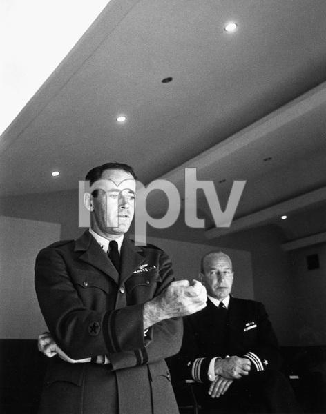 """The Caine Mutiny Court-Martial"" (Broadway Play)Henry Fonda, Lloyd Nolan1954 © 1978 Sanford Roth / A.M.P.A.S. - Image 4439_0001"