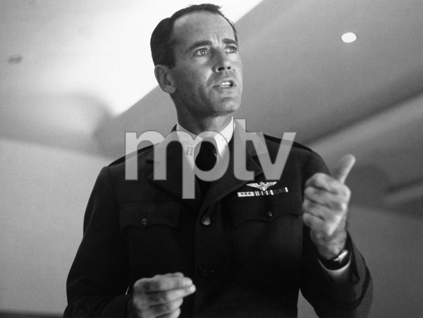 """The Caine Mutiny Court-Martial"" (Broadway Play)Henry Fonda1954 © 1978 Sanford Roth / A.M.P.A.S. - Image 4439_0003"
